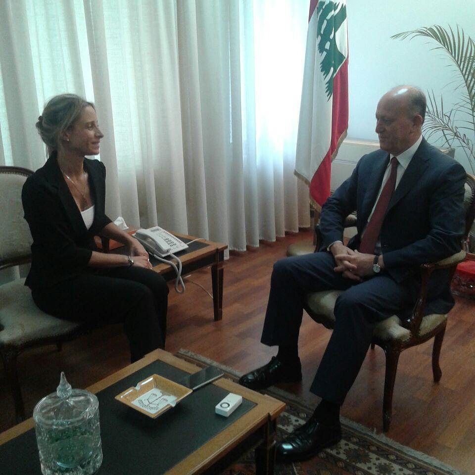 Interview with Justice Minister Rifi