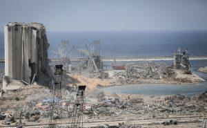 Damager after 2020 Beirut Explosions